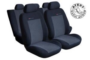Autopotahy Fiat Punto II od r.1999 a Punto II FL od r.2003, šedo černé