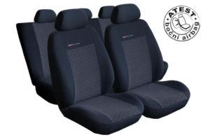 Autopotahy Seat Ibiza III, SPORT, od r. 2002-2009, antracit