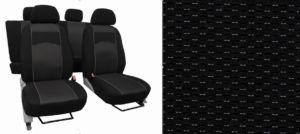 Autopotahy VOLKSWAGEN T-ROC, od r. 2017, VIP černé