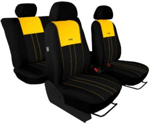Autopotahy VW TIGUAN II COMFORTLINE, od r. v. 2016, DUO žluto černé