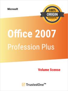 Office Professional Plus 2007