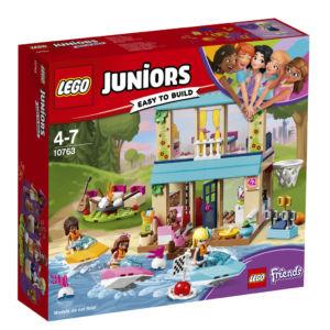 LEGO 10763 Juniors Stephanie a její dům u jezera