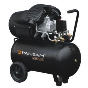 Vzduchový kompresor olejový 2 válce 2,3 kW, 50 l, 8 bar