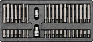 Vložka do zásuvky – šroubovací nástavce, 40ks