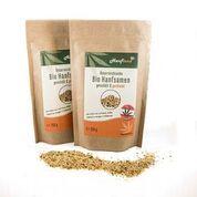 Konopná semena pražená bio, 250 g