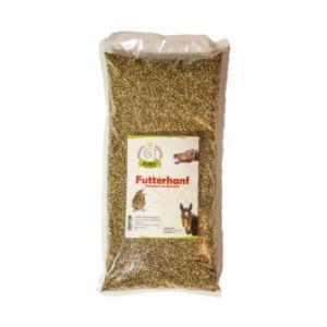 Konopná krmná neloupaná semena bio, 20 kg