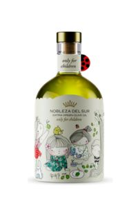 Nobleza del Sur určený pro děti 250 ml – prémiový extra panenský olivový olej