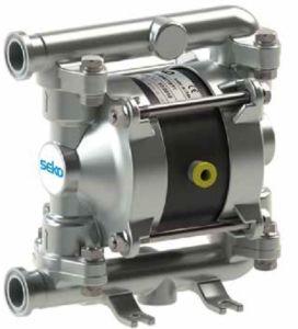 Membránové čerpadlo SEKO FDA AF0018, výkon 20 l/min 8 bar SS-SS-TT-TT