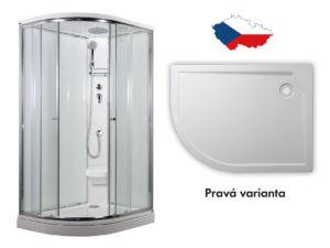 ARTTEC SIRIUS – sprchový box model 2 Strop chinchila pravá