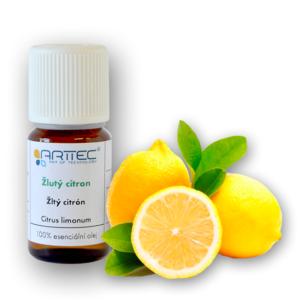 Žlutý citron bio (Citrus limonum)