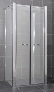 ARTTEC COMFORT B36 – Sprchový kout nástěnný grape – 96 – 101 x 76,5 – 79 x 195cm