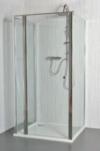 MOON E4 – Sprchový kout nástěnný clear 101 – 106 x 86,5 – 88 x 195 cm