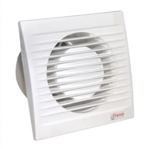 Ventilátor koupelnový ELITE průměr 100 s klapkou