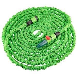 Verto flexibilní zahradní hadice 15G890, 22m, 9,5mm, 12bar, zelená, sada