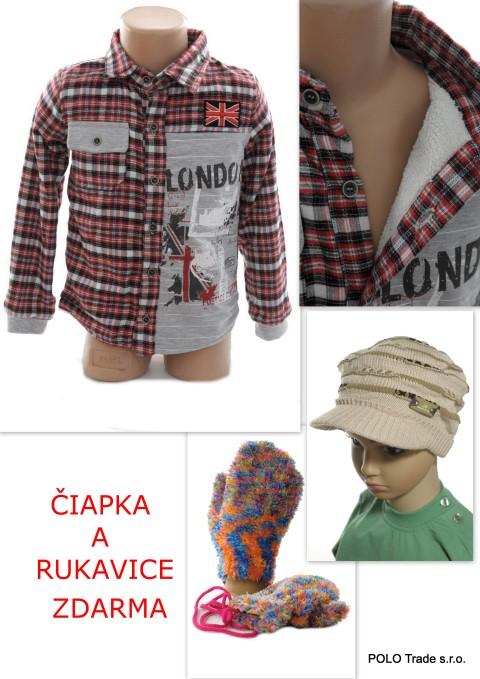 Detská bunda – čiapka+rukavice zdarma
