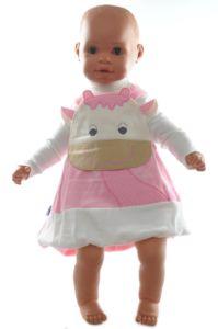 Detské šaty  s nátelníkom