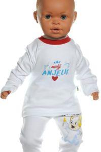 Detské tričko – Malý anjelik. červená