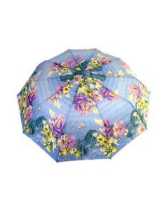 Skladací dáždnik noty a kvety