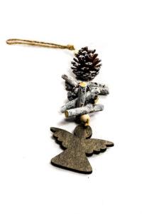 Vianočna ozdoba anjel 28 cm, PoloTrade