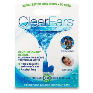 Cirrus ClearEars – špunty k odstranění vody z uší