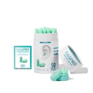 Haspro Multi špunty do uší zelené – 50 párů