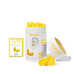 Haspro Multi špunty do uší žluté – 50 párů