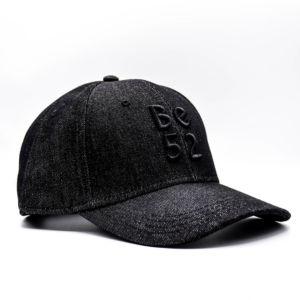 Kšiltovka Be52 JEANS CAP BLACK