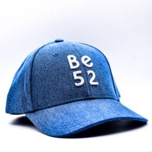 Kšiltovka Be52 JEANS CAP BLUE