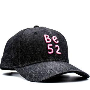 Kšiltovka Be52 JEANS CAP BLACK/PINK