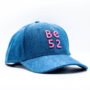 Kšiltovka Be52 JEANS CAP BLUE/PINK
