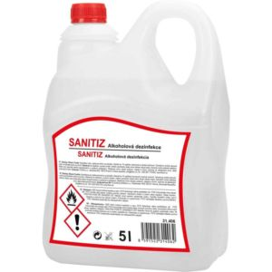 SANITIZ Dezinfekce alkoholová 5l kanystr