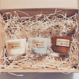 Sójové svíčky – Sada