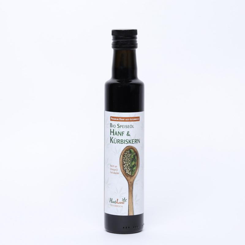 Konopno-dýňový olej, bio, 250 ml