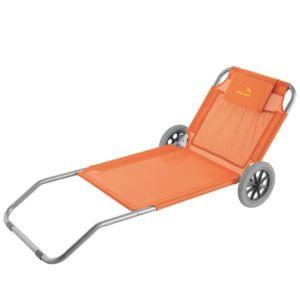 lehátko na kolečkách Easy Camp Pier oranžové