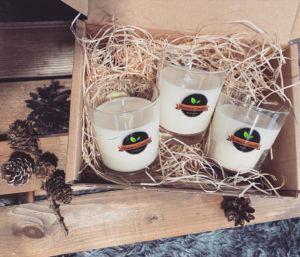 Sójové svíčky – Aromaterapie – Sada