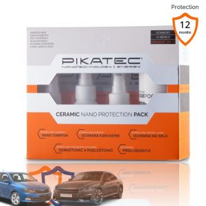 Pikatec nanokosmetika na auto sada Ceramic 10ks s potiskem