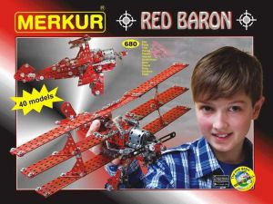 Merkur Red Baron, 680 dĂlĹŻ, 40 modelĹŻ