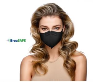 Český NanoRespirátor BreaSAFE® FFP2 – Znovupoužitelný