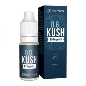 Harmony CBD E-liquid 300 mg, 10 ml, OG Kush