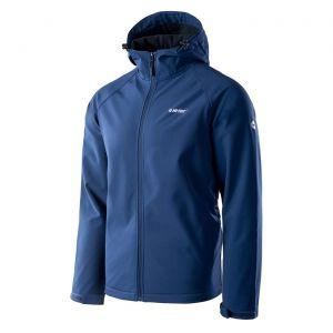 HI-TEC Neti – pánská softshellová bunda s kapucí