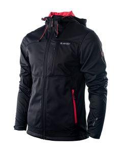 HI-TEC Roner – pánská softshellová bunda s kapucí