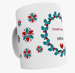 Keramický hrnek vánoční V113 320 ml
