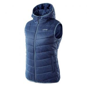 HI-TEC Lady Solnis – dámská prošívaná vesta s kapucí