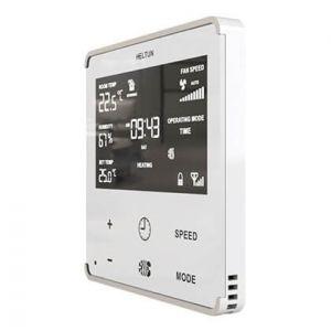 HELTUN Fan Coil Thermostat (HE-FT01-WWM), Z-Wave termostat pro fan coil systémy, Bílý