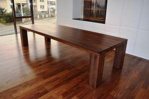 Jídelní ořechový stůl Artemis rozměr 76x100x280cm