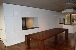 Jídelní ořechový stůl Artemis rozměr 76x110x340cm
