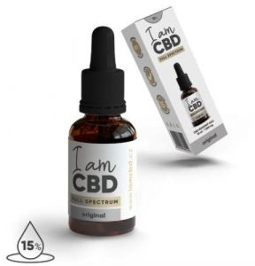 I am CBD Full Spectrum CBD Olej 15%   10ml