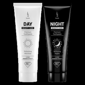 DuoLife Den a Noc   Sada zubních past   2×50 ml
