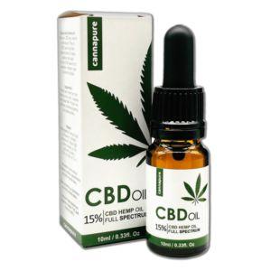 CBD olej Cannapure 15% Full Spectrum